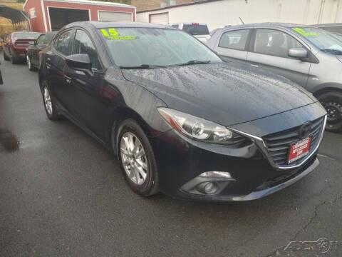 2015 Mazda MAZDA3 for sale at Guy Strohmeiers Auto Center in Lakeport CA