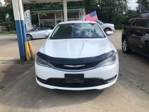 2015 Chrysler 200 for sale at Ghazal Auto in Sturgis MI