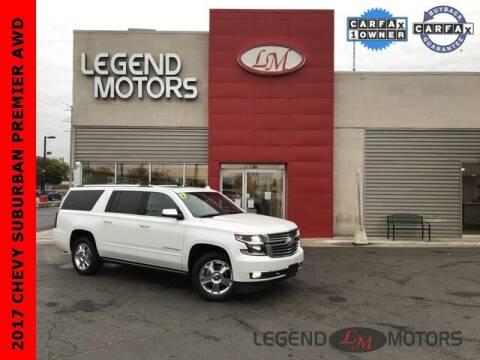 2017 Chevrolet Suburban for sale at Legend Motors of Waterford - Legend Motors of Ferndale in Ferndale MI