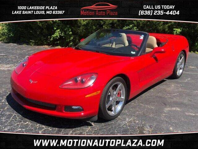2006 Chevrolet Corvette for sale at Motion Auto Plaza in Lakeside MO