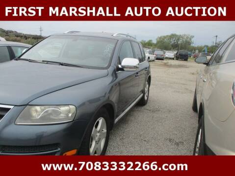 2007 Volkswagen Touareg for sale at First Marshall Auto Auction in Harvey IL