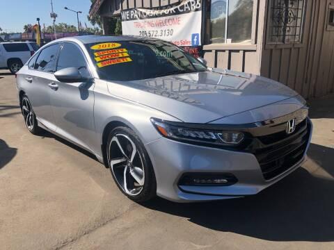2018 Honda Accord for sale at Devine Auto Sales in Modesto CA