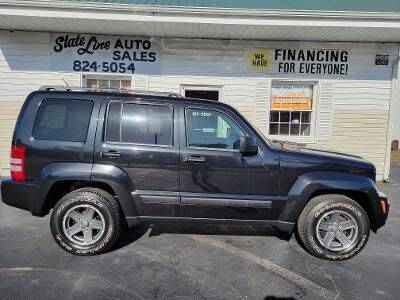 2008 Jeep Liberty for sale at STATE LINE AUTO SALES in New Church VA