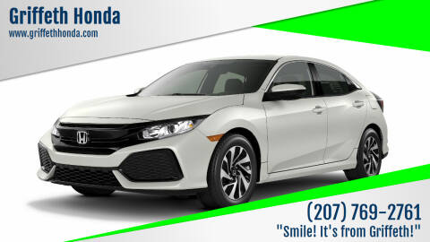2018 Honda Civic for sale at Griffeth Honda - Pre Owned in Presque Isle ME