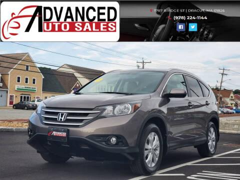 2013 Honda CR-V for sale at Advanced Auto Sales in Dracut MA