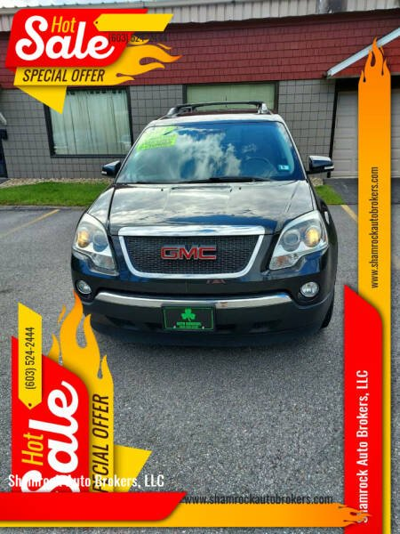 2011 GMC Acadia for sale at Shamrock Auto Brokers, LLC in Belmont NH