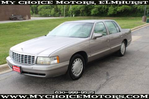 1998 Cadillac DeVille for sale at Your Choice Autos - My Choice Motors in Elmhurst IL