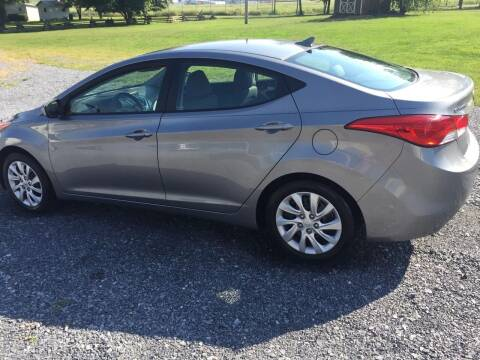 2012 Hyundai Elantra for sale at CESSNA MOTORS INC in Bedford PA
