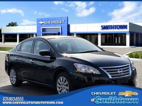 2015 Nissan Sentra for sale at CHEVROLET OF SMITHTOWN in Saint James NY