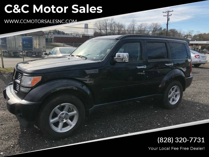 2010 Dodge Nitro for sale at C&C Motor Sales LLC in Hudson NC