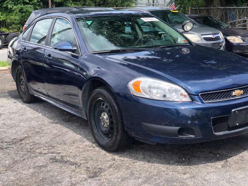 2016 Chevrolet Impala Limited for sale at TEAM AUTO SALES in Atlanta GA