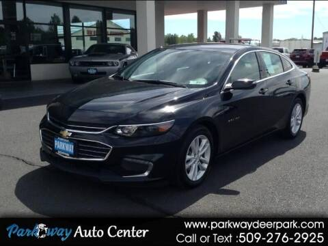 2018 Chevrolet Malibu for sale at PARKWAY AUTO CENTER AND RV in Deer Park WA