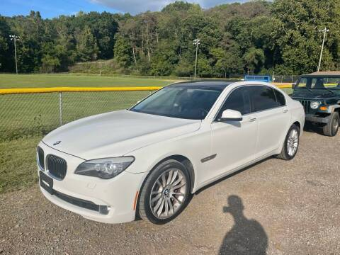 2011 BMW 7 Series for sale at Trocci's Auto Sales in West Pittsburg PA