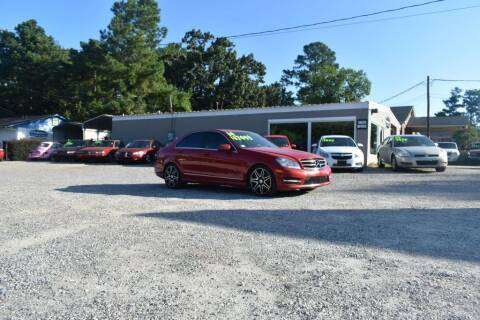2014 Mercedes-Benz C-Class for sale at Barrett Auto Sales in North Augusta SC
