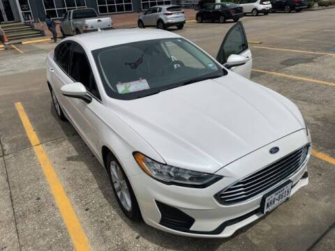 2020 Ford Fusion for sale at FREDY USED CAR SALES in Houston TX