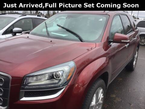 2017 GMC Acadia Limited for sale at Royal Moore Custom Finance in Hillsboro OR