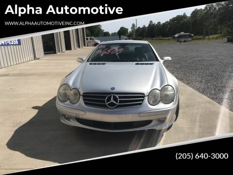 2006 Mercedes-Benz SL-Class for sale at Alpha Automotive in Odenville AL