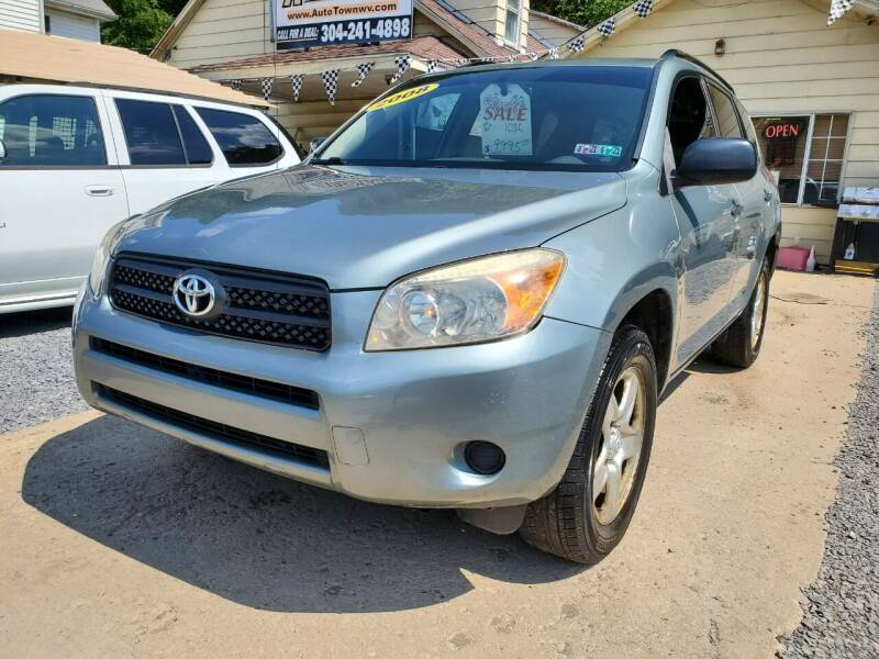 2008 Toyota RAV4 for sale at Auto Town Used Cars in Morgantown WV