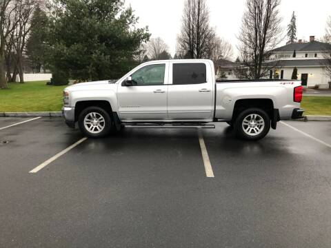 2016 Chevrolet Silverado 1500 for sale at Chris Auto South in Agawam MA