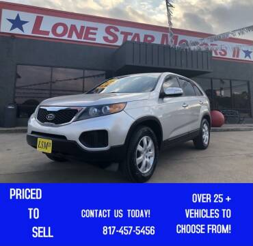 2011 Kia Sorento for sale at LONE STAR MOTORS II in Fort Worth TX