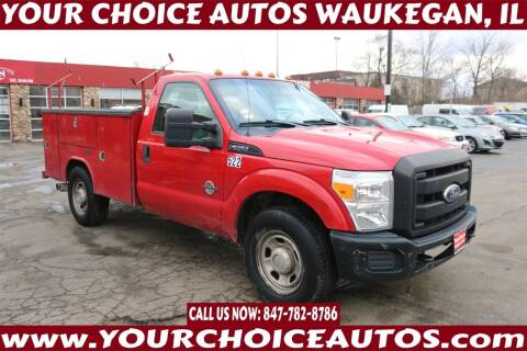 2011 Ford F-350 Super Duty for sale at Your Choice Autos - Waukegan in Waukegan IL