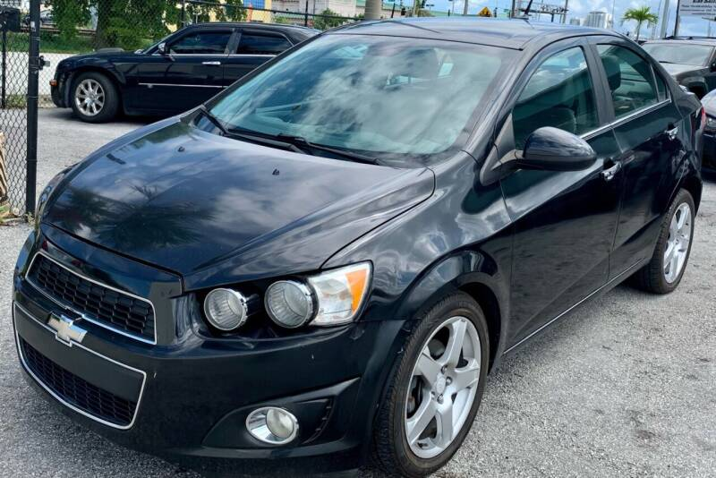 2013 Chevrolet Sonic for sale at Naber Auto Trading in Hollywood FL