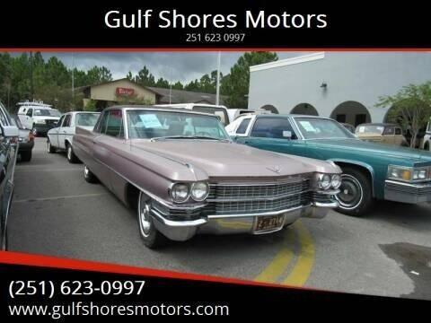 1963 Cadillac DeVille for sale at Gulf Shores Motors in Gulf Shores AL