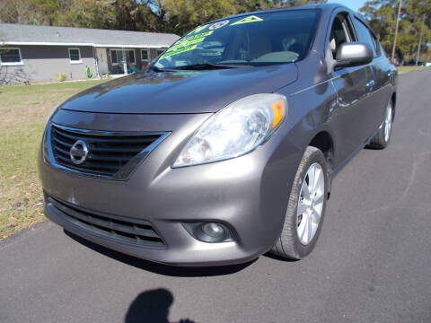 2014 Nissan Versa for sale at LANCASTER'S AUTO SALES INC in Fruitland Park FL