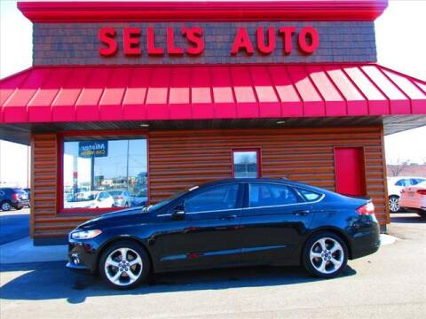 2014 Ford Fusion for sale at Sells Auto INC in Saint Cloud MN