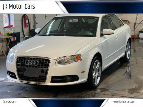 2008 Audi A4 for sale at JK Motor Cars in Pittsburgh PA