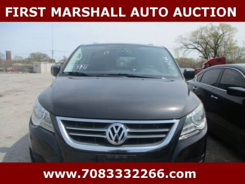 2011 Volkswagen Routan for sale at First Marshall Auto Auction in Harvey IL