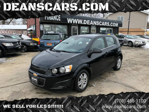 2012 Chevrolet Sonic for sale at DEANSCARS.COM in Bridgeview IL