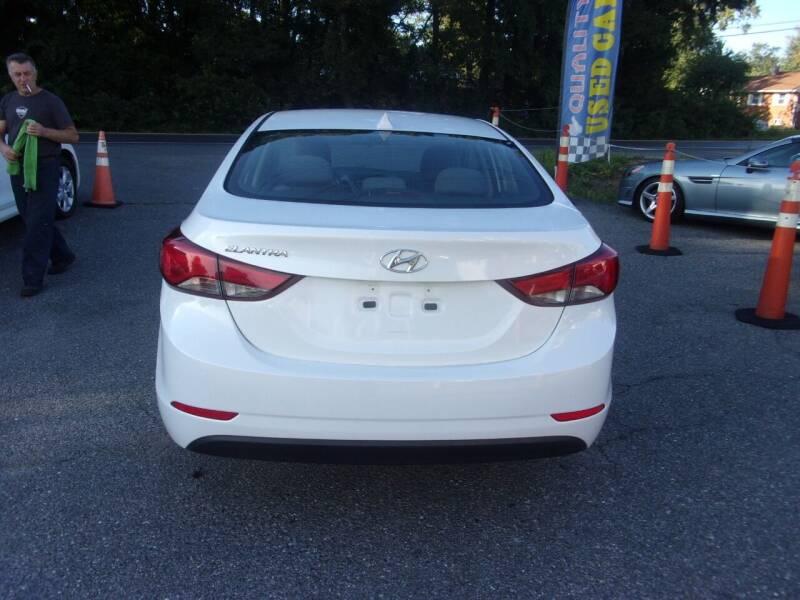 2016 Hyundai Elantra SE 4dr Sedan 6A (US) - Lanham MD