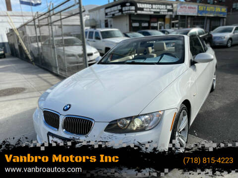2007 BMW 3 Series for sale at Vanbro Motors Inc in Staten Island NY