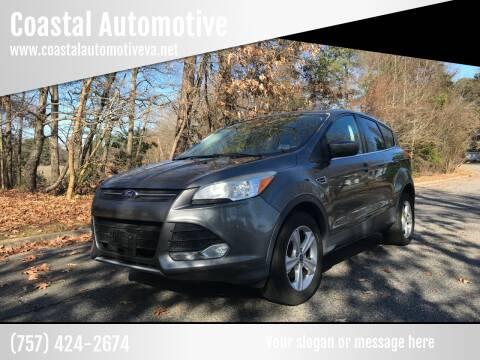 2013 Ford Escape for sale at Coastal Automotive in Virginia Beach VA