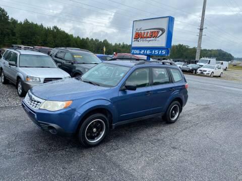 2012 Subaru Forester for sale at Billy Ballew Motorsports in Dawsonville GA
