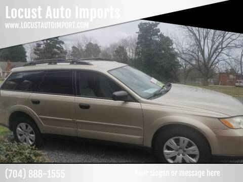 2008 Subaru Outback for sale at Locust Auto Imports in Locust NC