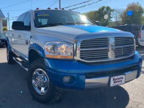 2006 Dodge Ram Pickup 2500 for sale at MARIETTA MOTORS LLC in Marietta OH