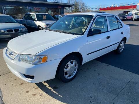 2001 Toyota Corolla for sale at Wise Investments Auto Sales in Sellersburg IN