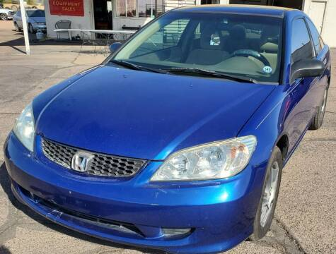 2004 Honda Civic for sale at AZ Auto and Equipment Sales in Mesa AZ