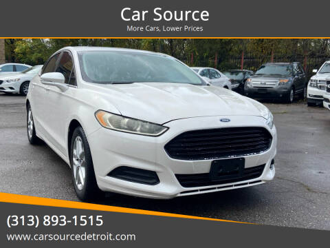 2015 Ford Fusion for sale at Car Source in Detroit MI