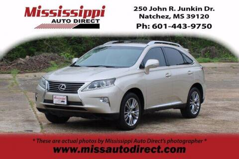 2013 Lexus RX 350 for sale at Auto Group South - Mississippi Auto Direct in Natchez MS