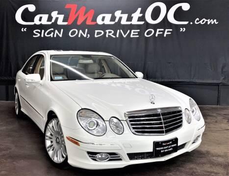 2008 Mercedes-Benz E-Class for sale at CarMart OC in Costa Mesa CA