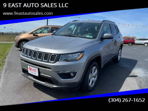 2019 Jeep Compass for sale at 9 EAST AUTO SALES LLC in Martinsburg WV