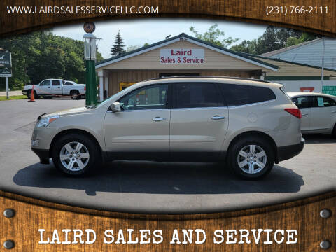 2012 Chevrolet Traverse for sale at LAIRD SALES AND SERVICE in Muskegon MI