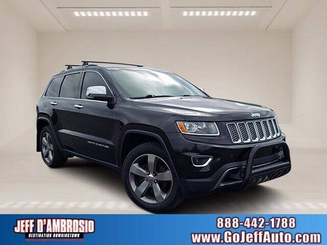 2014 Jeep Grand Cherokee for sale at Jeff D'Ambrosio Auto Group in Downingtown PA