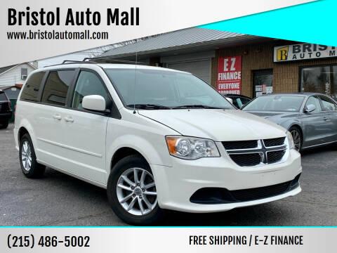2013 Dodge Grand Caravan for sale at Bristol Auto Mall in Levittown PA