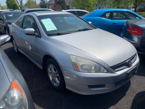 2006 Honda Accord for sale at Park Avenue Auto Lot Inc in Linden NJ