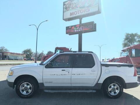 2001 Ford Explorer Sport Trac for sale at Victory Motors in Waterloo IA