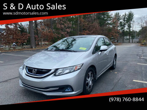2013 Honda Civic for sale at S & D Auto Sales in Maynard MA
